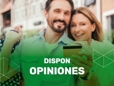 Dispon opiniones