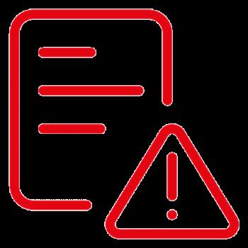 Endidades no operativas popup icon