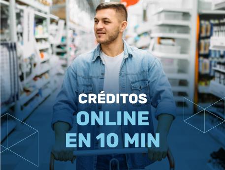 Creditos online en 10 min