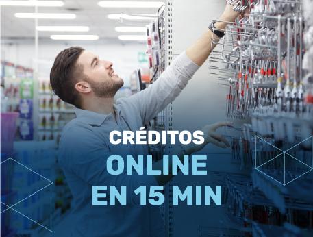 Creditos online en15 min