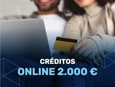 Creditos online 2000 €