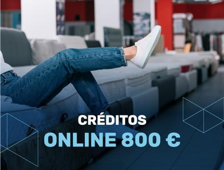 Creditos online 800 €
