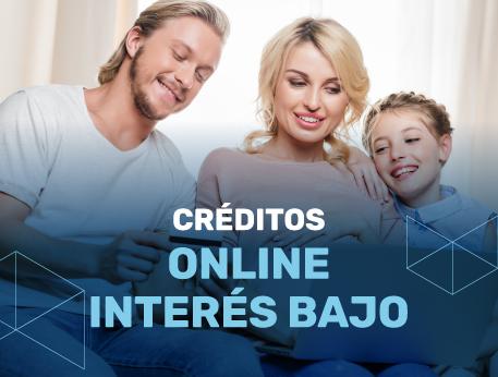 Creditos online interes bajo