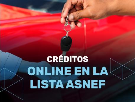 Creditos online en la lista ASNEF