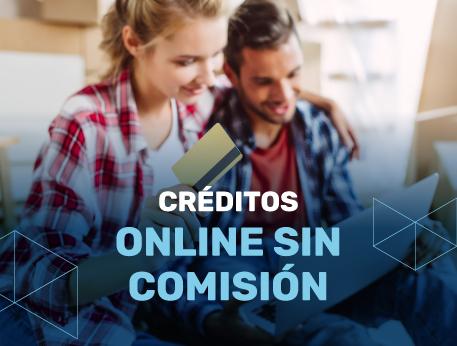 Creditos online sin comision