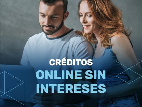 Creditos online sin intereses