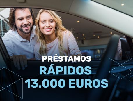 Prestamos rapidos 13000 euros