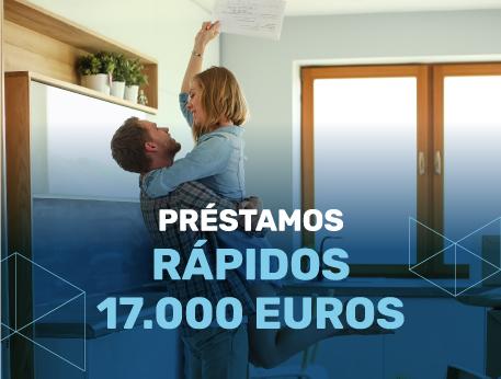 Prestamos rapidos 17000 euros