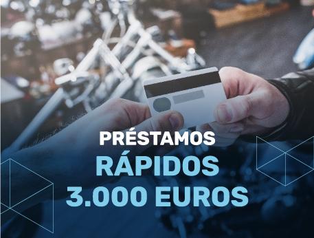 Prestamos rapidos 3000 euros