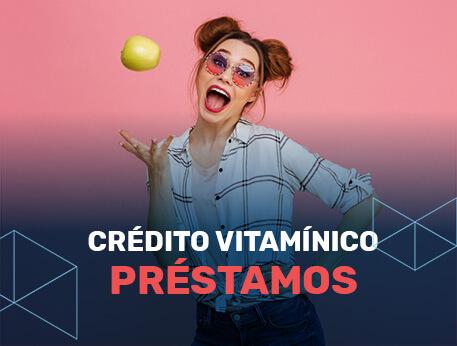 Crédito Vitamínico préstamo online.